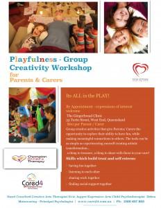 Carers Group Workshop - Playfulness April 2015