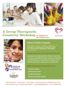 Out of Home Care - Holiday Program Flyer