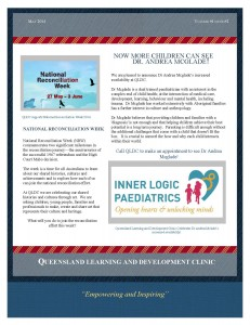 Another newsletter captures our work in QLD